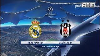 PES 2018 | Real Madrid vs Besiktas | Free Kick Goal | UEFA Champions League (UCL)