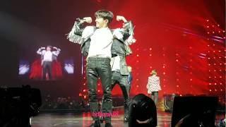 180929 Boyz with Fun+Attack on Bangtan+Fire+Baepsae+Dope - BTS 'Love Yourself' Tour Newark Day 2