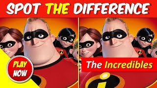 Can You Spot the Difference (The Incredibles 2 Theme) Picture Puzzles #5