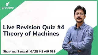 G-19 Revision Plan | Theory of Machines | Live Quiz Session on 26th December @ 4 PM!