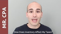 How Does Inventory Affect My Taxes?