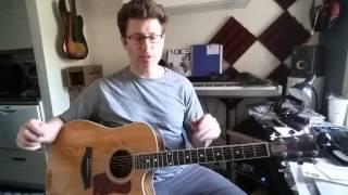 Alternate Guitar Tuning - Open D Major Chord