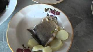 как приготовить холодец из рыбы по деревенски !!!!