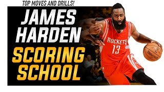 James Harden Scoring School: Best Basketball Moves, Crossovers, and Highlights