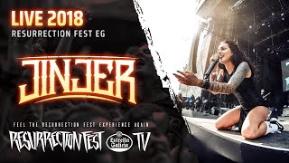 Jinjer - Pisces (Live at Resurrection Fest EG 2018, Spain) [Pro-shot]