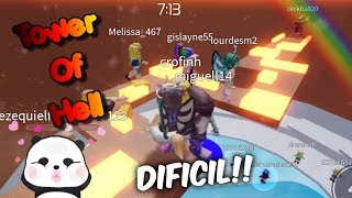 SOY MUY NOOB!! TOWER OF HELL♥Roblox ♥