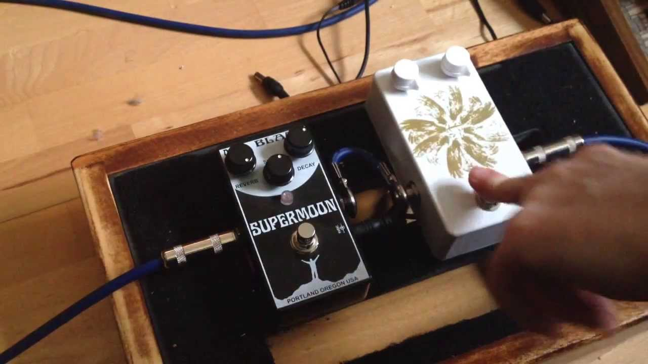 Pedal Projects Marbleverb Mr Black Supermoon Youtube