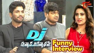 DJ Duvvada Jagannadham | Allu Arjun, Harish Shankar Funny Interview | #DJ