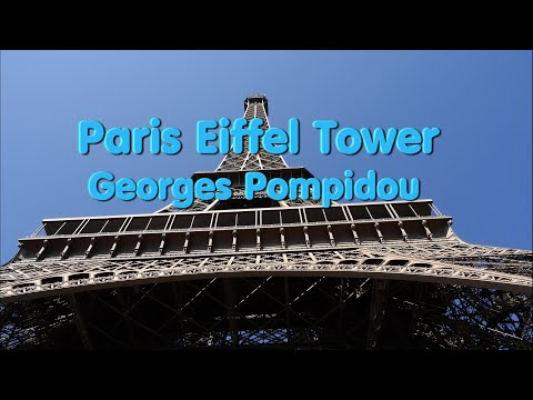 Visit Eiffel Tower & Centre Georges Pompidou Paris 22 - 8 -  2015