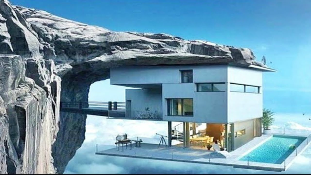 Amazing Cliff Homes for your inner James Bond villain