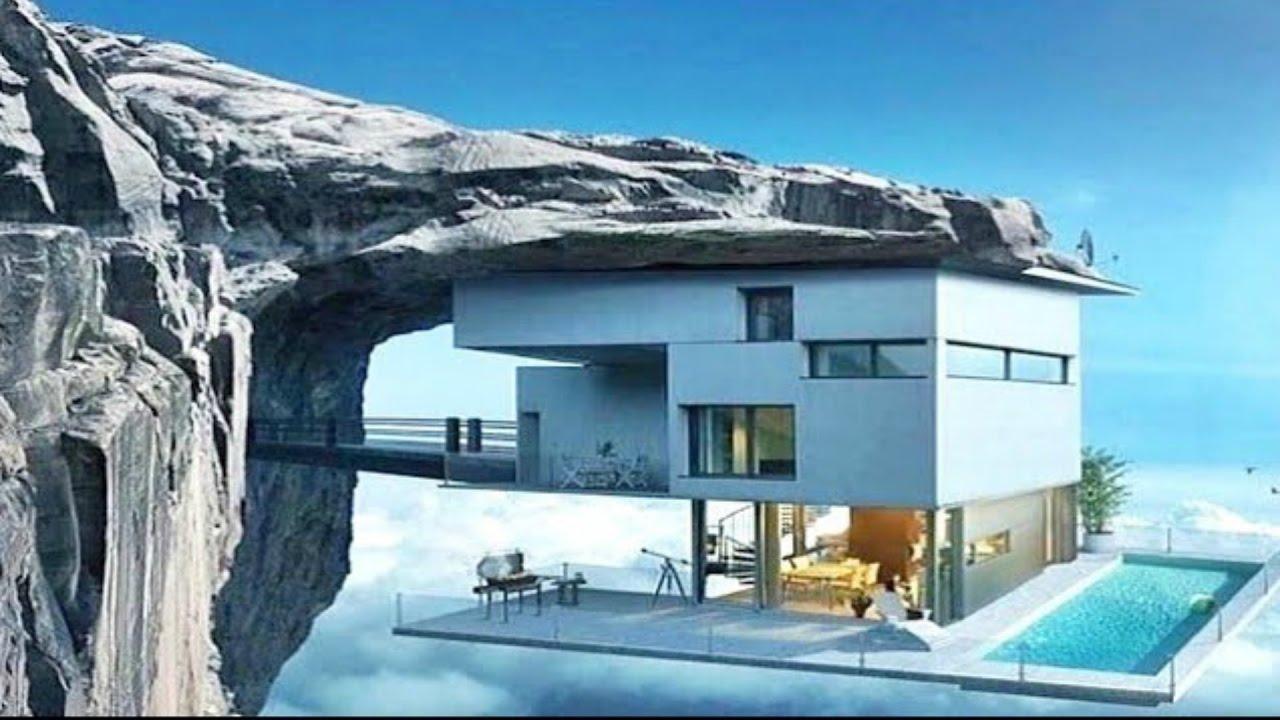 Amazing Cliff Homes for your inner James Bond villain