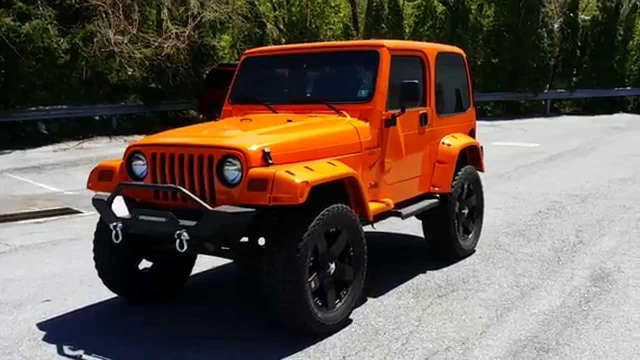 Jeep wrangler crush
