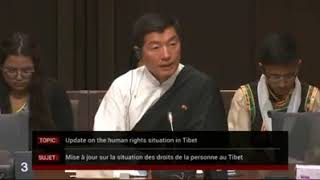 Dr. Lobsang Sangay testifies before Canada's Senate Committee on Foreign Affairs and Int'l Trade