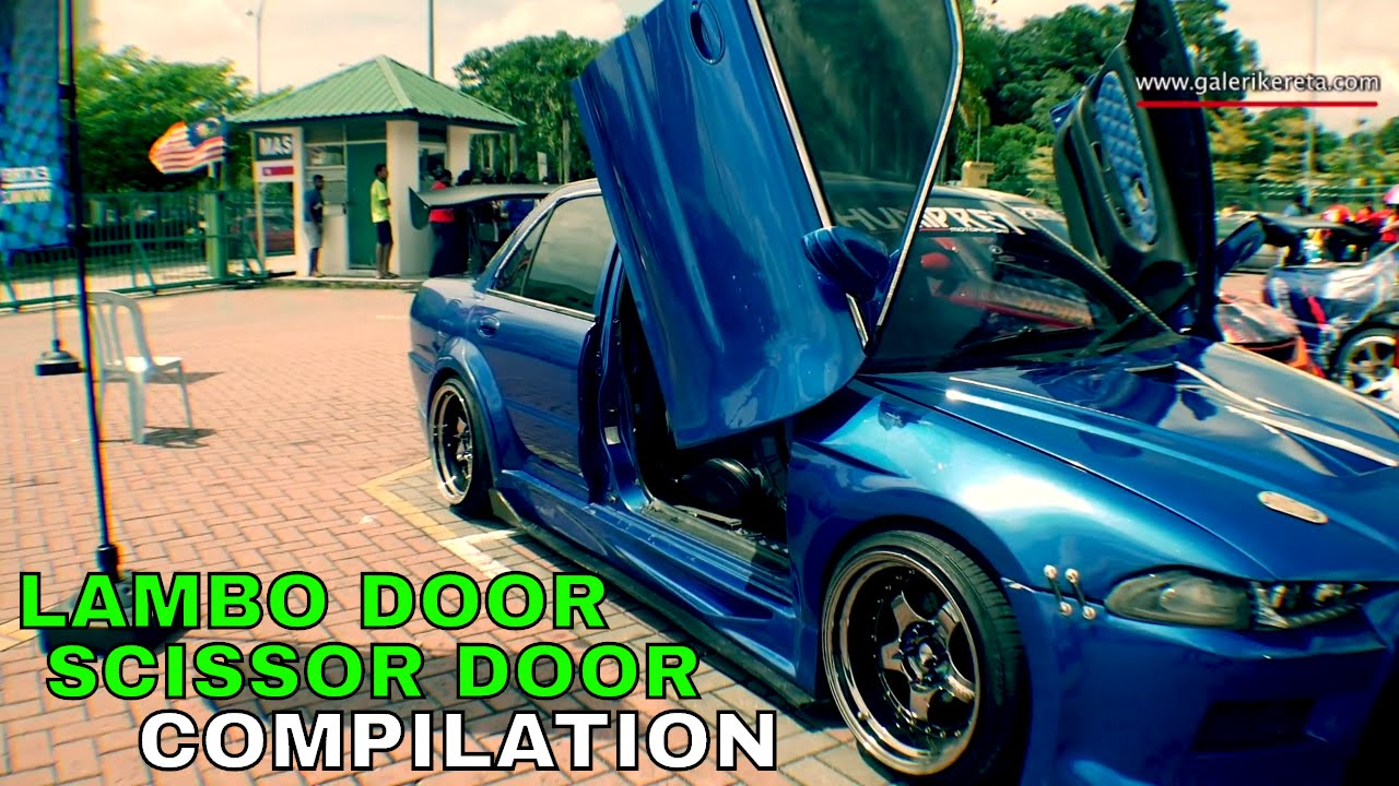 & Lambo Door / Scissor Door Video Collection - YouTube