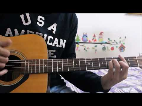 TU Jaane NA unplugged + Few more songs - Guitar Cover lesson chords easy hindi