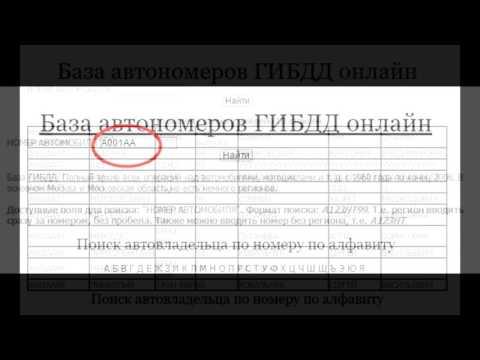 База гаи украина онлайн бесплатно