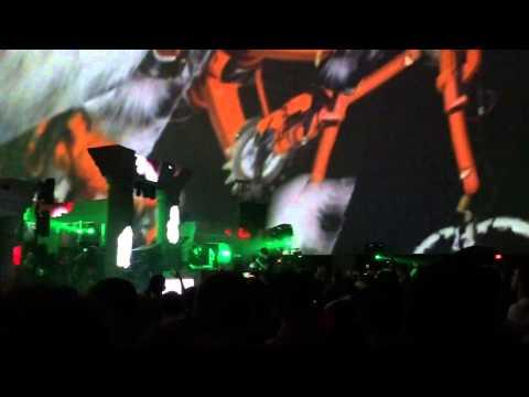Skrillex at Bonnaroo 6/10/12 - Sabotage (Beastie Boys) Nero ...