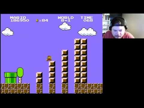 NES Classic - Super Mario Bros. (part 4) | VGHI Play 'n' Chat Live Stream