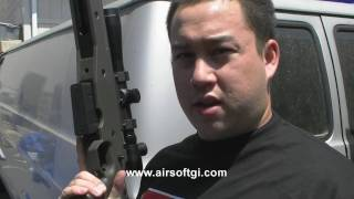 Video Airsoft GI - Ares AW338 Gas Sniper Rifle download MP3, MP4, WEBM, AVI, FLV April 2018
