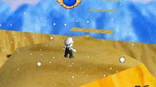 "SM64 Hack:: Super Mario 128- Mission 6: ""Conquering the Sandstorm Winds"""