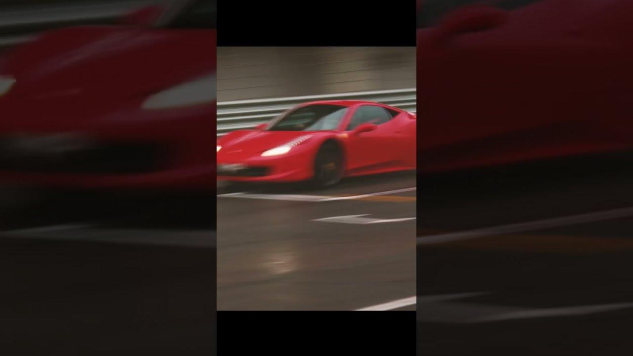 Потрясающая Ferrari 458 Italia! Обожаю этот звук!