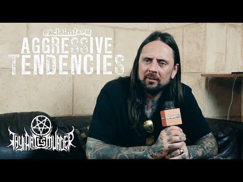 CJ McMahon rejoins Thy Art Is Murder, hates deathcore tag, sells windbreaker | Aggressive Tendencies