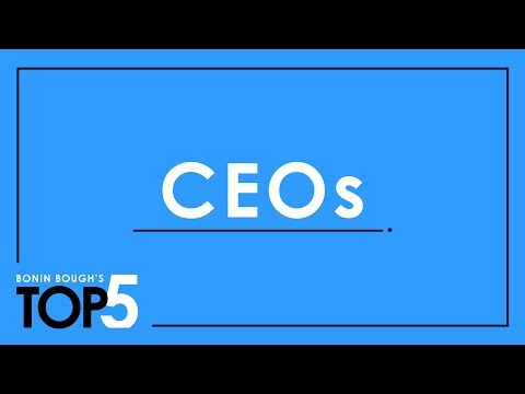 The 5 CEOs Transforming Their Industries