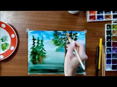 Уроки рисования 6 класс видео
