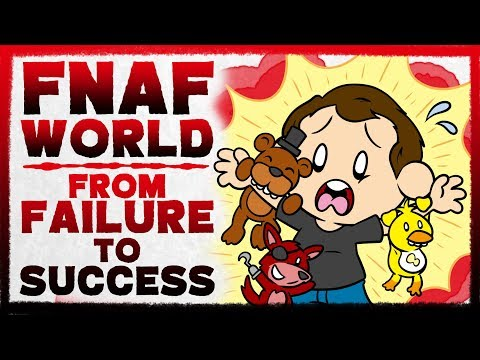 FNAF World: How Scott Cawthon Turned His Biggest Failure Into a Success