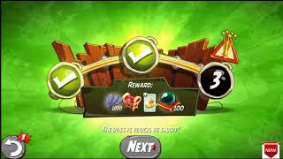 Beat The Daily Challenge King Pig Panic Completed in Angry Birds 2 FRIDAY (2)