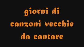Gigi d'alessio - giorni (sigla di amici)