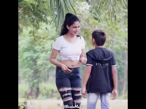 Download Indian best pranks: cute girl with little boy