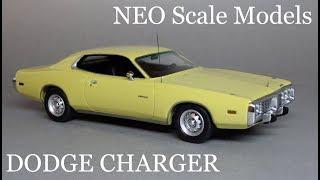 1974 Dodge Charger 1:43 NEO Scale Models - Обзор масштабной модели культового спортивного автомобиля