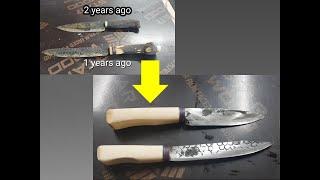 Making Knife / 나이프 만들기 #3