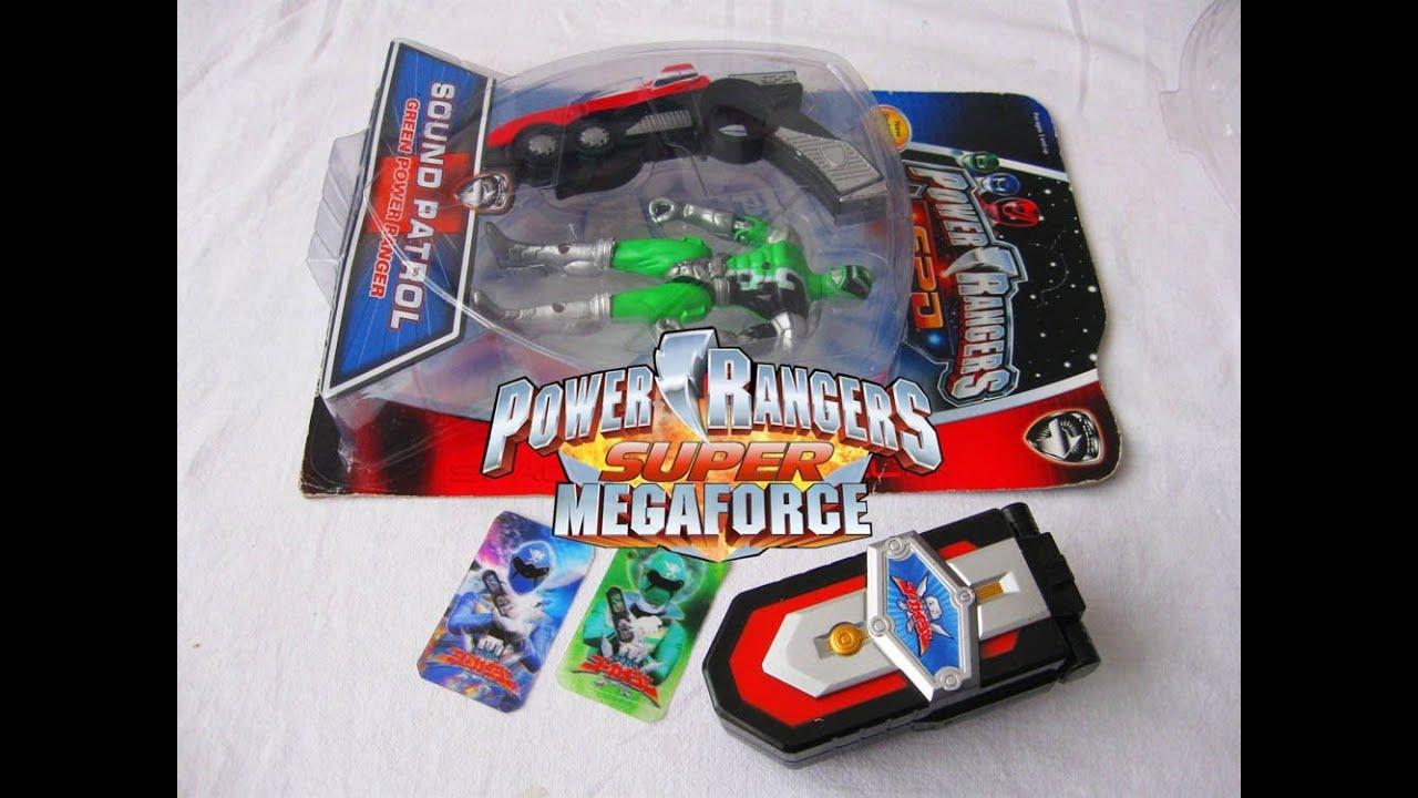 Super MegaForce Morpher & SPD Green Power Ranger Toy ...