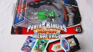 Super MegaForce Morpher & SPD Green Power Ranger Toy (Review)