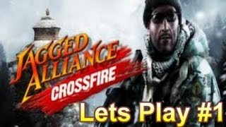 Jagged Alliance Crossfire Lets Play #1 - Jadong Harbor C8
