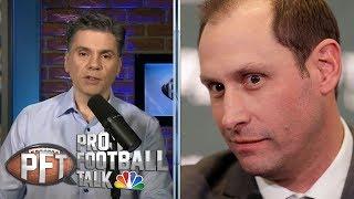 New Jets coach Adam Gase talks Sam Darnold, final days in Miami | Pro Football Talk | NBC Sports