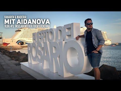 AIDA Vlog #5: Kanaren & Madeira mit AIDAnova - Inselabenteuer Fuerteventura