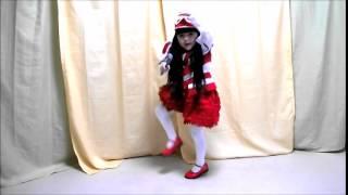 【華月6歳】なりきり?きゃりーぱみゅぱみゅ でもでもまだまだ CM風衣装で歌って踊ってみた