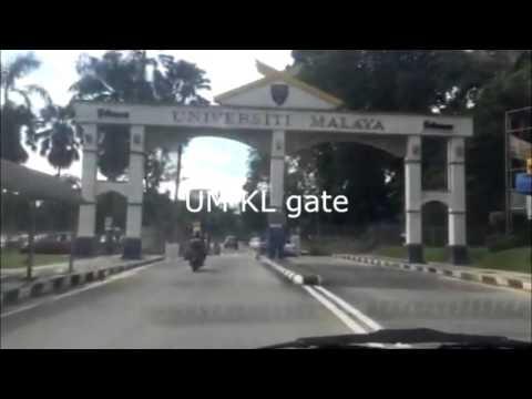 KL gate to Faculty of Medicine, University of Malaya