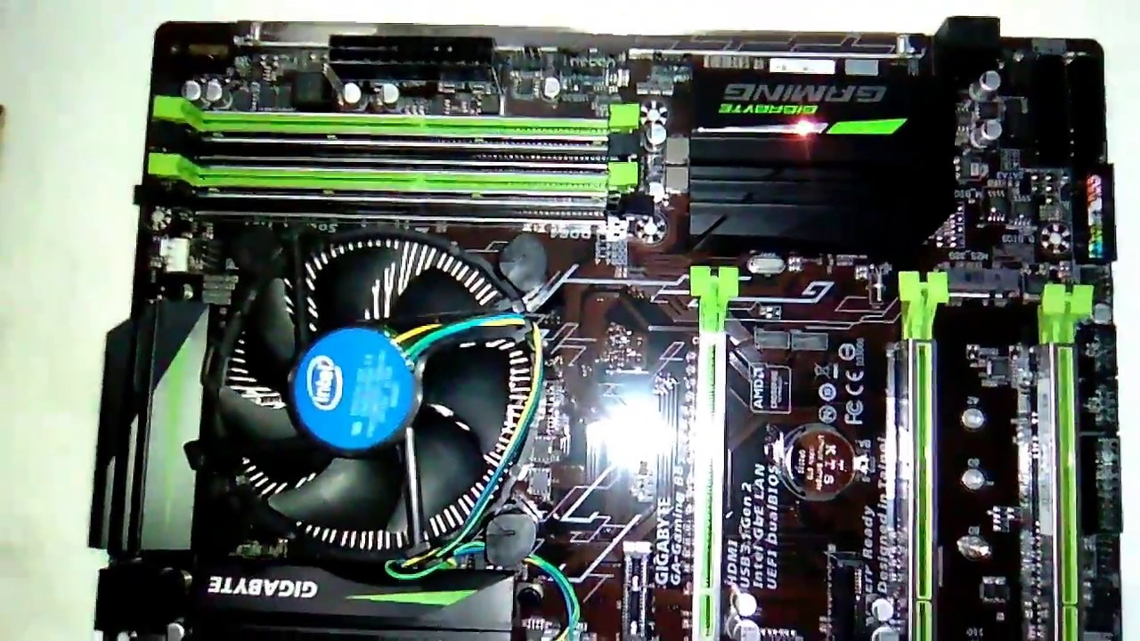 Gigabyte B8 Motherboard with LED Mode