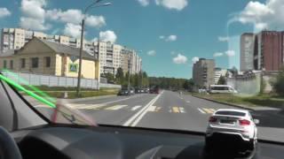 Автонакат - Как лучше разворачиваться на перекрестке.