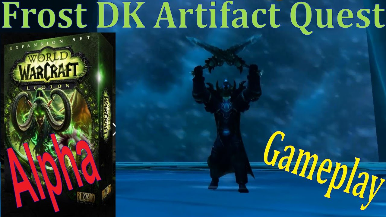 Frost dk hidden artifact