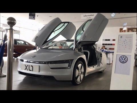 Volkswagen XL1 - World's Most Fuel Efficient Car In-Depth Review