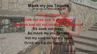 Maak my jou Tequila - ProTrax Karaoke Demo
