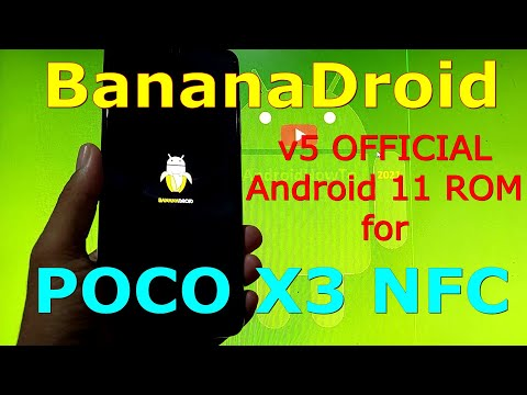 BananaDroid v5 OFFICIAL for Poco X3 NFC (Surya) Android 11 - Fastest