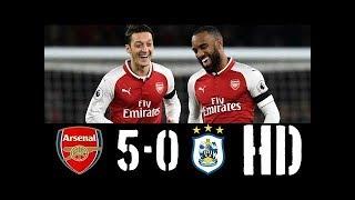 Arsenal vs Huddersfield 5 0   All Goals & Highlights   29112017