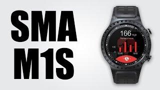 SMA M1S 2G Smartwatch Phone - 1.3 inch / 32MB RAM / 128MB ROM / Bluetooth 3.0 + 4.0 / 320mAh