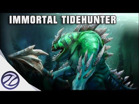 Dota 2 | Immortal Tidehunter Ravage Larh